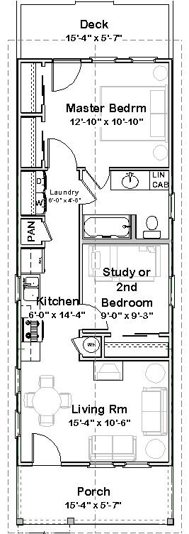 Modern shotgun house floor plan shotgun house plan found on