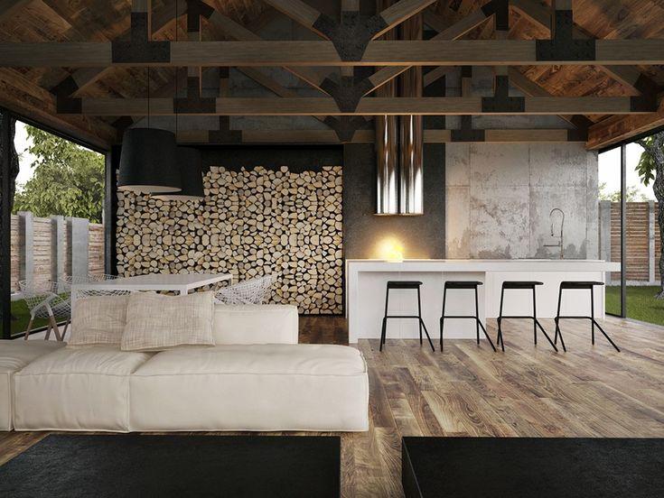 Фото — Armadillo Summer House  — Architecture