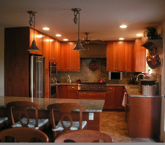 1000+ Ideas About Cherry Wood Kitchens On Pinterest