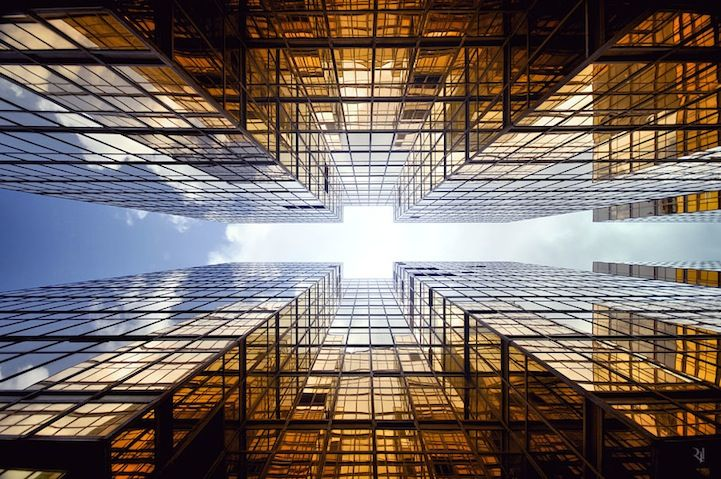 Vertical Perspective of Hong Kong's Immense Skyscrapers - My Modern Metropolis