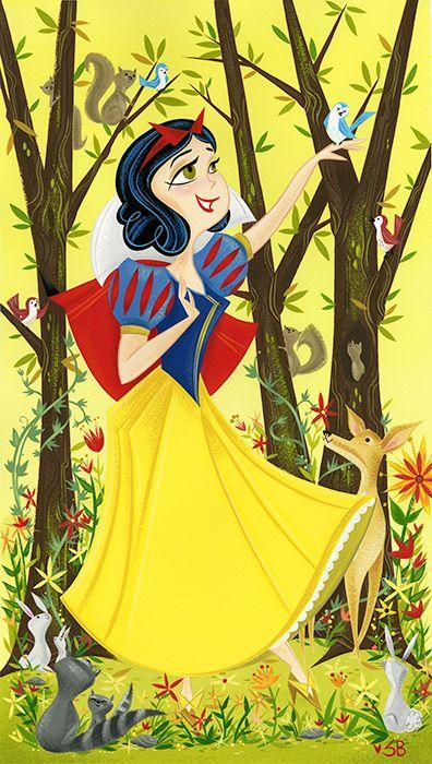 Snow White by Stephanie Buscema [©2015]