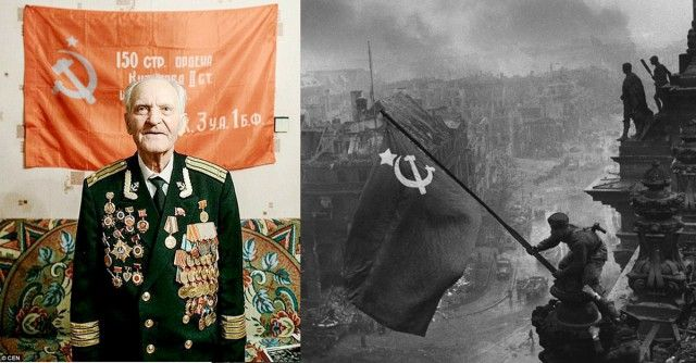 The last member of the Soviet Red Army division that stormed the German Reichstag in Berlin at the end of World War Two has died aged 93. In his honor, the Russian Parliament flag was replaced with