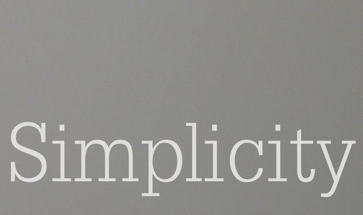 ☆ simplicity #grey #words