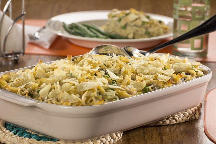 Mom's Tuna Noodle Casserole | mrfood.com
