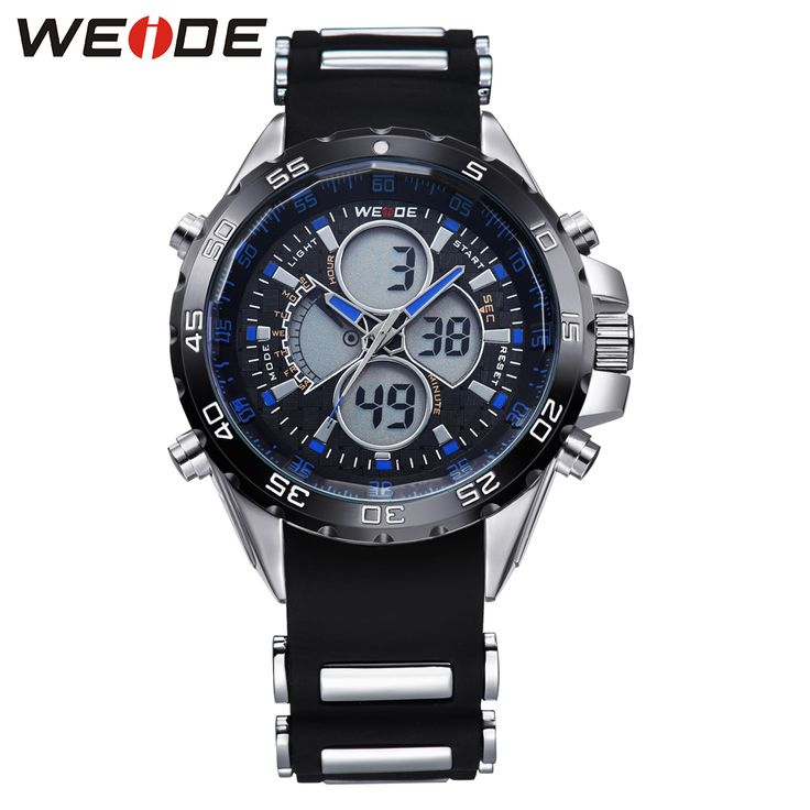 Hot Sale Item WEIDE Luxury Brand Analog Digital Display Quartz Movement 30m Waterproof Fashion Blue Color Silicone Strap WH1103     Tag a friend who would love this!     FREE Shipping Worldwide     Get it here ---> https://shoppingafter.com/products/hot-sale-item-weide-luxury-brand-analog-digital-display-quartz-movement-30m-waterproof-fashion-blue-color-silicone-strap-wh1103/