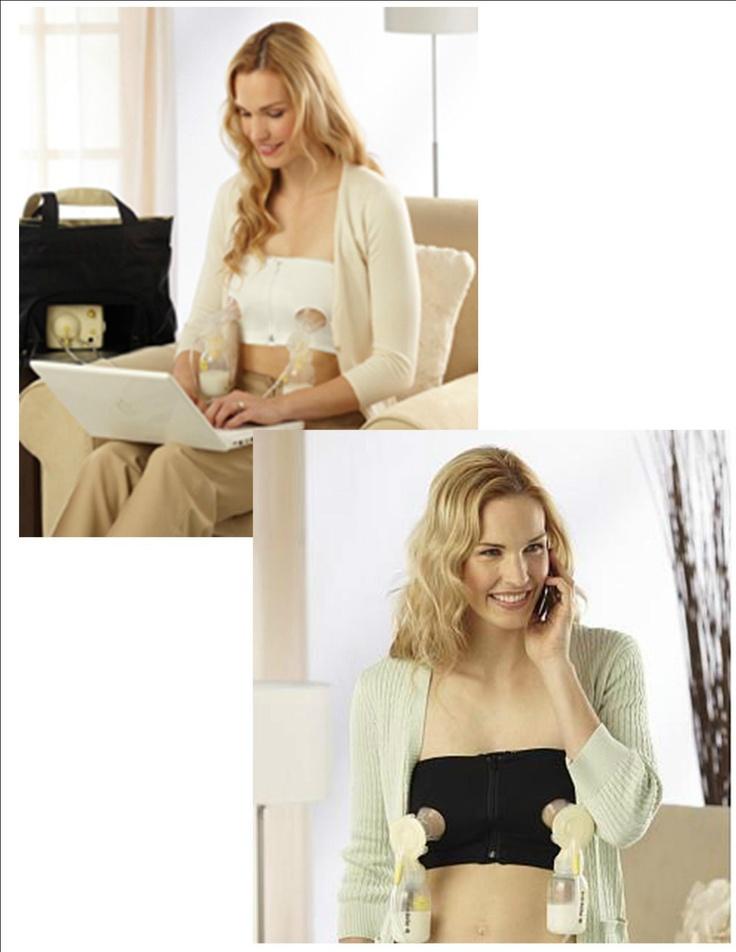 how to make a hands free nursing bra