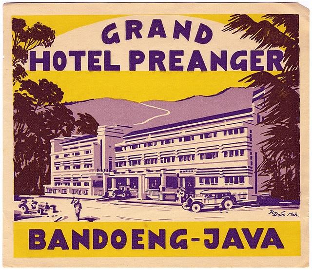 Hotel Preanger, Java