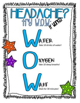 Students often complain if a headache, which can be a classroom distraction…