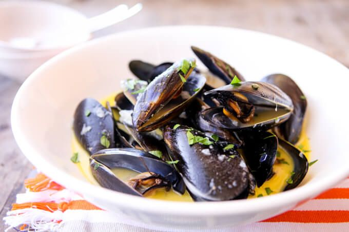 French mussels thermomix skinnymixers