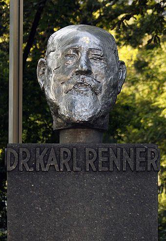 Alfred Hrdlicka – Karl-Renner-Büste (Wien, 1967)