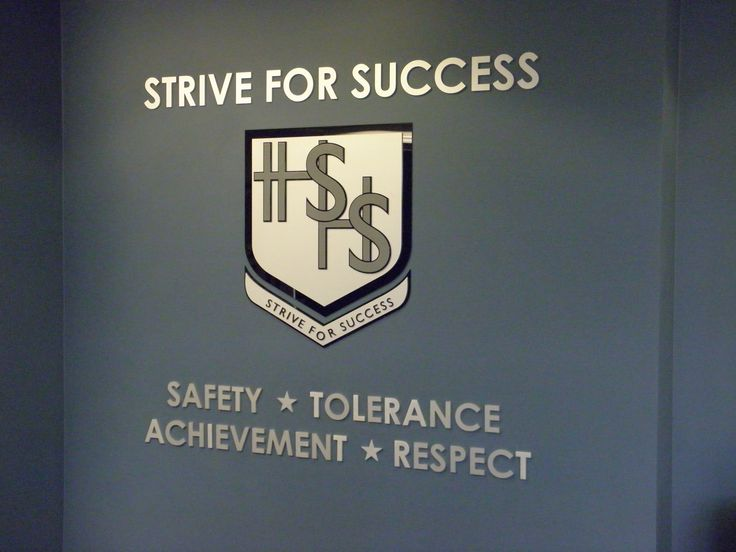 Hills Sports High School #CSI #reception #signage