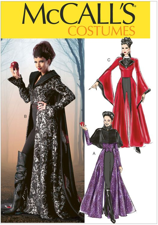 Misses Costumes McCalls Pattern 6818.