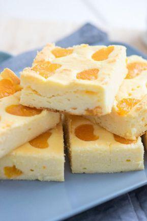 Kleiner Quark Kasekuchen Mit Mandarinen Rezept Kuchen