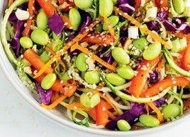 Pad thaï cru aux couleurs de l'arc-en-ciel | Manger sain | Mon assiette | Plaisirs Santé