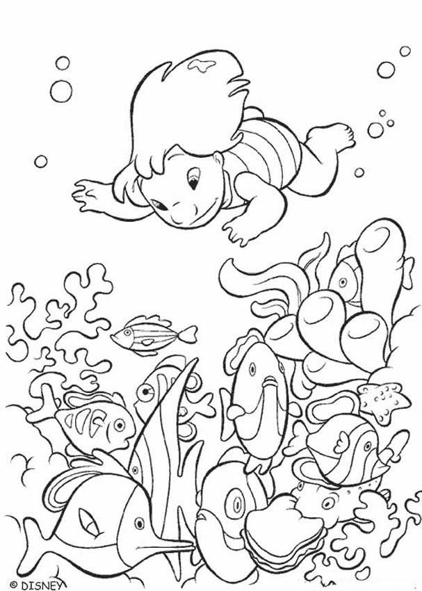 Lilo & Stitch Coloring Page