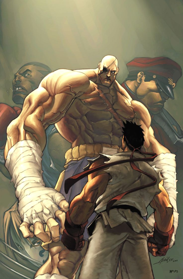 Street Fighter 4 Cover by #UdonCrew on deviantART