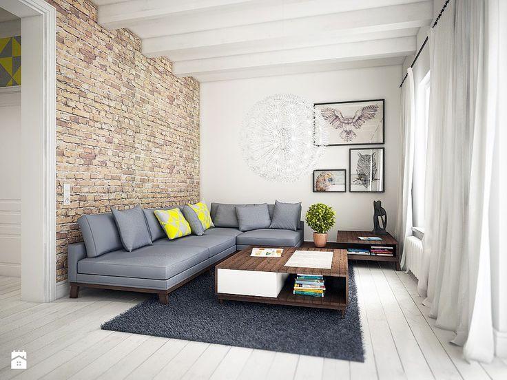Skandynawski minimalizm - zdjęcie od NatusDESIGN - Salon - Styl Skandynawski - NatusDESIGN