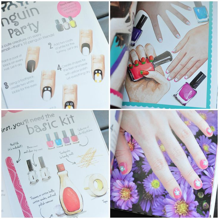Bonnie Marcus Nail Design Kit Collage #giveaway
