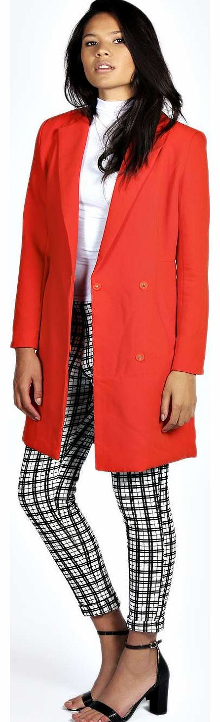 boohoo Nora Duster Coat - orange azz18343 For a more feminine take on the floor-sweeping style, wrap up in this waist-cinching duster coat . Wear it with a turtle neck knit , skinny jeans and pointed ankle boots . http://www.comparestoreprices.co.uk/womens-clothes/boohoo-nora-duster-coat--orange-azz18343.asp