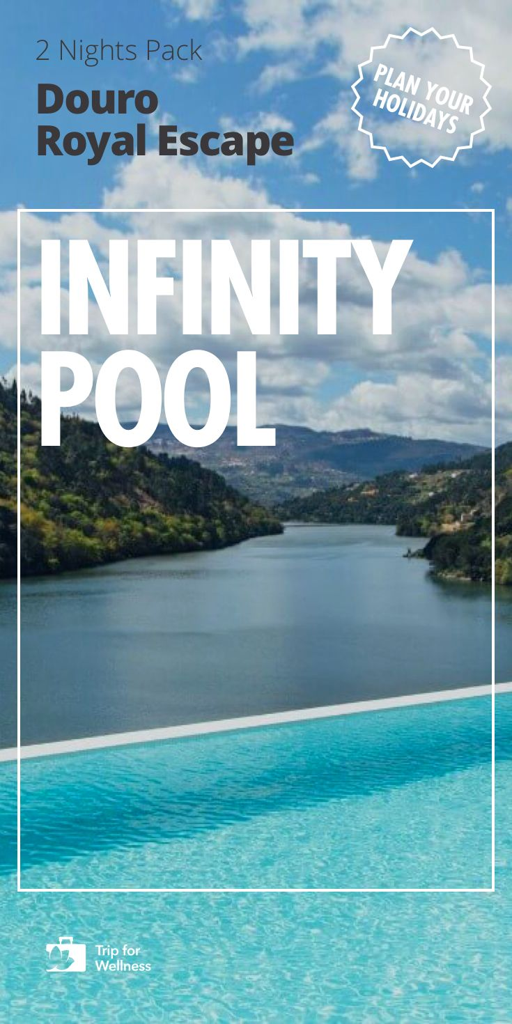 Spend a spa weekend overlooking the Douro River. Enjoy this luxury hotel surrounded by the region's ancestral vines. Infinity Pool included. You won't find this travel anywhere besides Trip For Wellness.