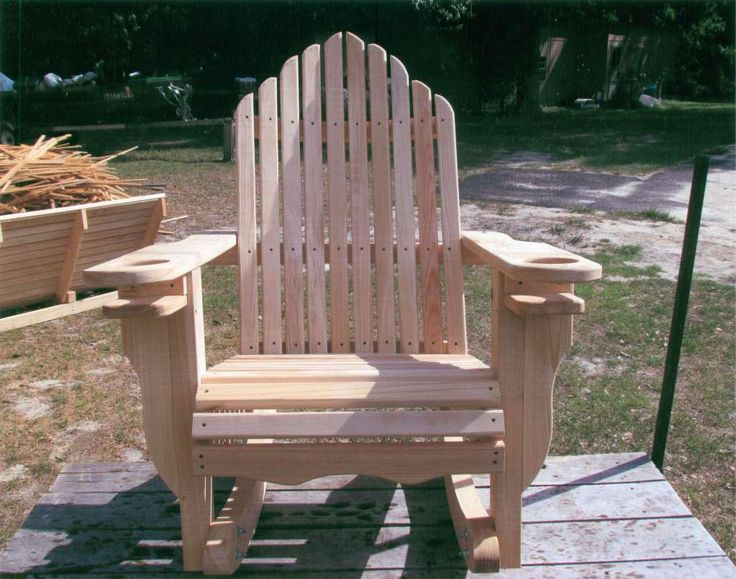 Adarondack Rocking Chair Outdoor Life Pinterest Rocking Chairs Chalet Interior And Pallets