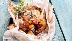 ΟΔΗΓΟΣ ΠΙΕΡΙΑΣ: Κλέφτικο κοτόπουλο γεμιστό στη λαδόκολλα...
