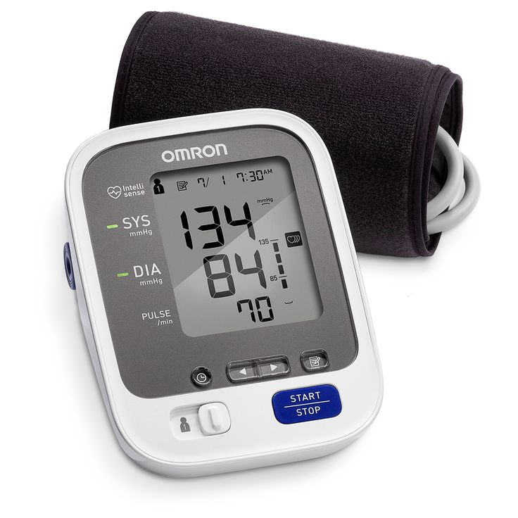 Omron 7 Series Bluetooth Blood Pressure Unit, Grey
