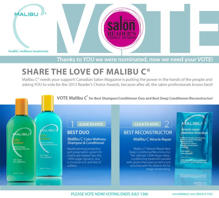 Malibu Products are amazing. These products are vegan and have absolutely no parabens. Perfect for swimmers, to preserve your color, and to clarify your hair. It prevents oxidation from occurring which can damage your hair. We took an apple once and cut it in half and spread some shampoo on the apple. The apple did not turn brown. There's your proof.