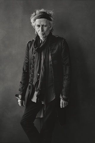 fashion icon; godfather of rock and roll
