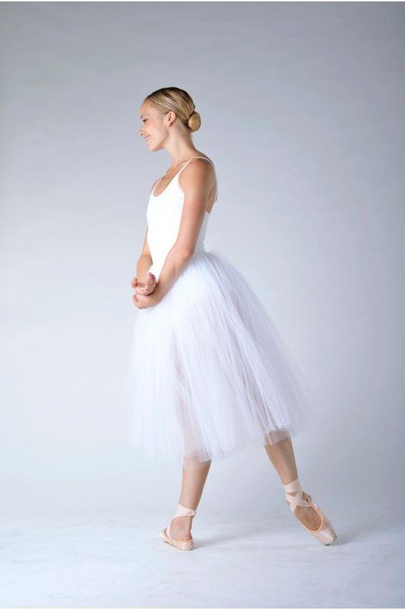 55 cm Tutu Jupes Femme Ado Ballet Danse Rétro Moelleux jupon jupon