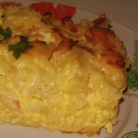 Tepsiben sült sajtos-baconös tészta Recept képpel -   Mindmegette.hu - Receptek