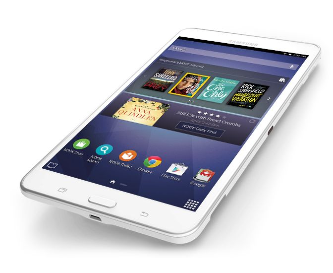 Samsung Galaxy Tab 4 NOOK 7 Inch Tablet - Barnes&Noble