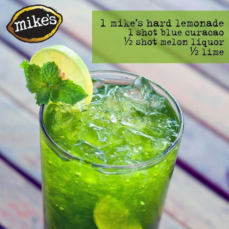 St. Patty alternative with Mike's Hard Lemonade