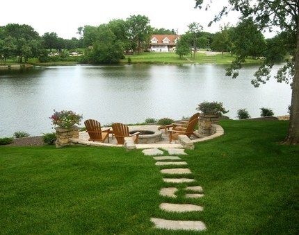 Stepping Stones Walkways Idea | stepping stone walkway idea provided by rosetta stone products