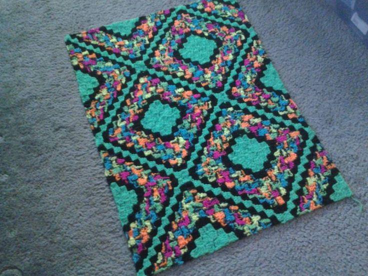 LOVE this c2c afghan CRAFTS crochet Pinterest ...