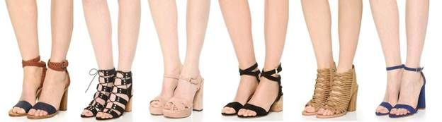Kimba Likes Shopbop seasonal trends - the block heel | Shopbop Friends and Family Sale