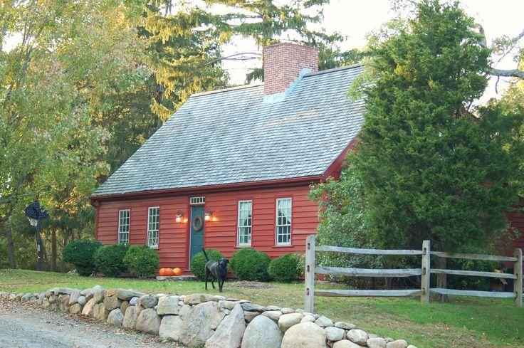Dies sagt nur Willkommen zu Hause! Alte Häuser in Maine – kleines Haus Innenarchite …   – house building ideas