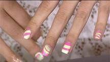 Bobbie's Buzz: How to do the trendy 'swirl' manicure
