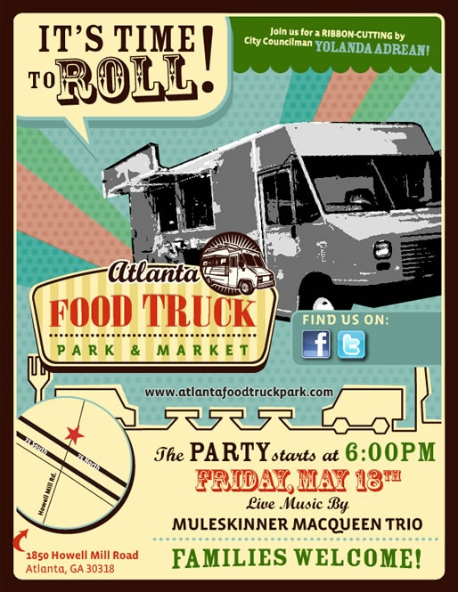 Atlanta Food Truck Park and Market - Been meaning to try this spot out.