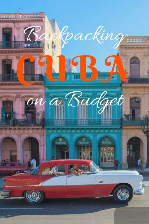 Travel Cuba independently on a Budget. Information about accommodation, food and transport.