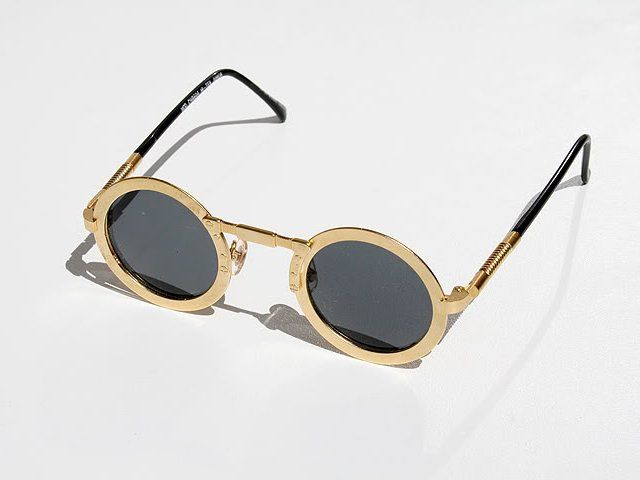 Fancy - Round Steampunk Sunglasses by Hi Tek