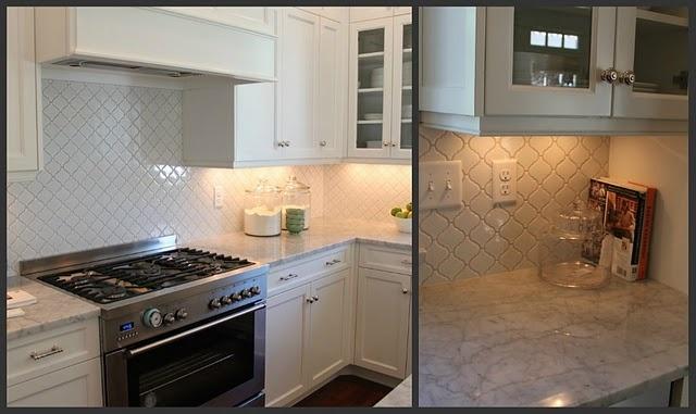 love that tile on the backsplash!!: Backsplash Tile, White Tile, Open House, Back Splash, Kitchens Tile, Subway Tile, Kitchens Ideas, Kitchens Backsplash, White Kitchens