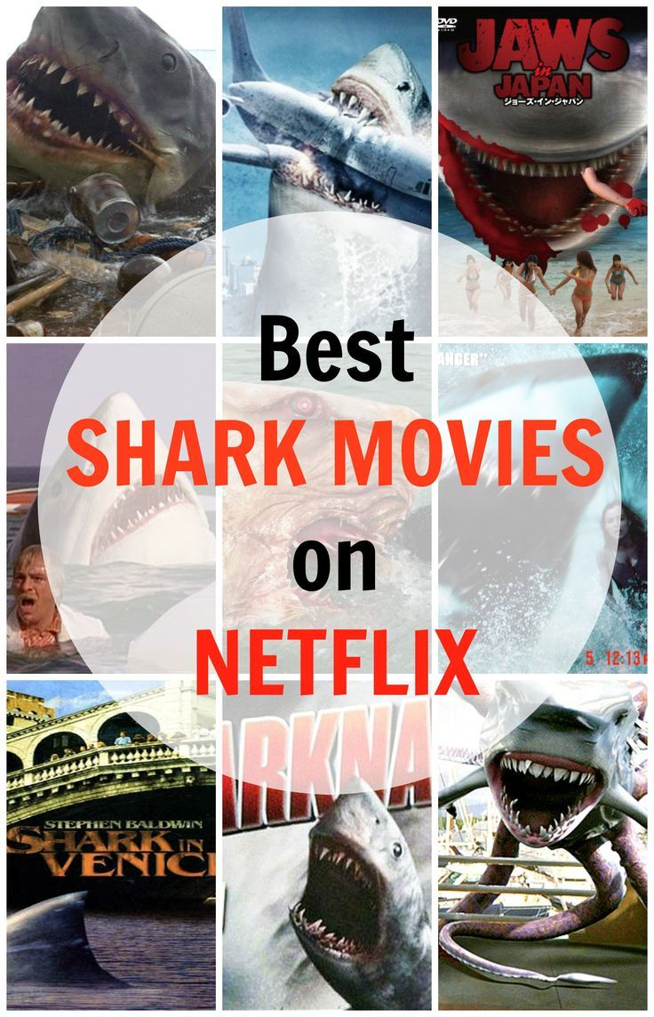 Best Shark Movies on Netflix / Best Horror Movies with Killer Sharks / Best Shark Films (Jaws, Sharknado, Shark in Japan, Shark Attack, The Last Jaws, Shark in Venice, Shark Killer, Shark Night, Shark Lake, Sharktopus, Deep Blue Sea, etc)