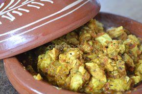 Marokkaanse kipfilet uit de tajine