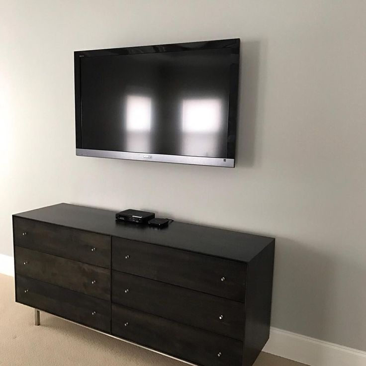 Bedroom TV Wall Mounting Service