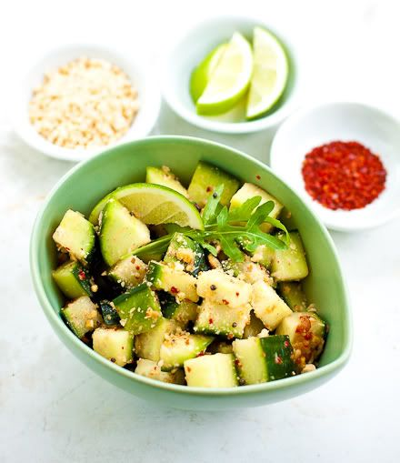 lime Spicy Cucumbers, Cucumber Salad, Indian Cucumber, Cucumber Peanut ...