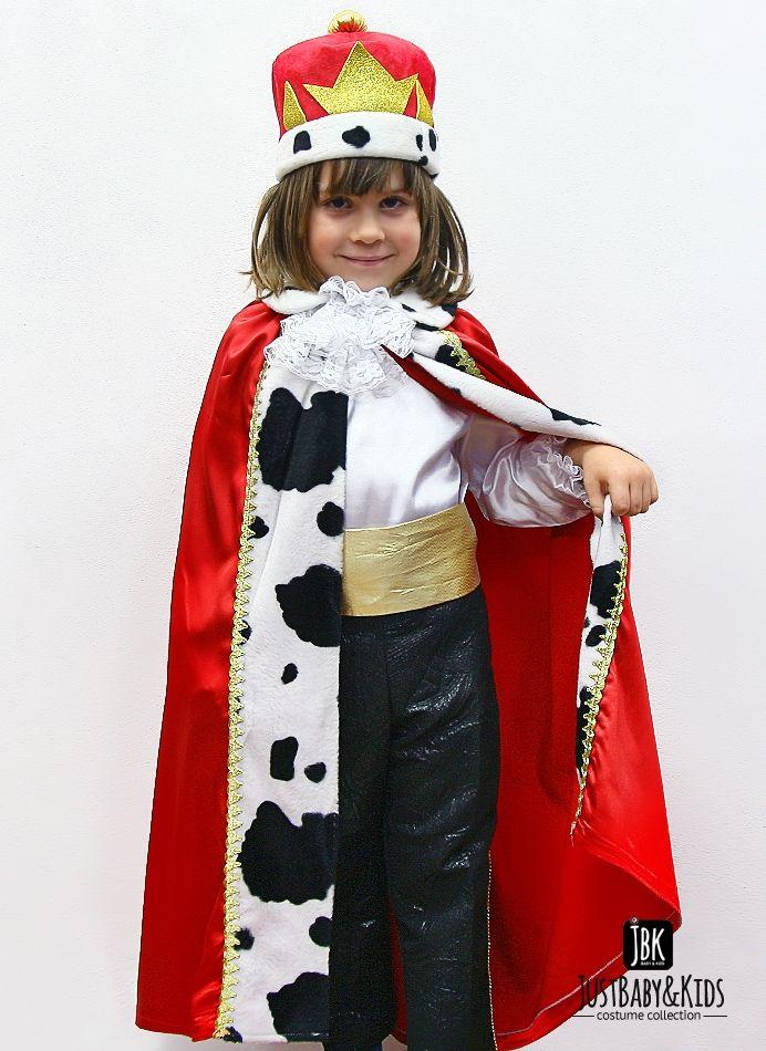 CCE05A Minik Kral Kostümü Just Baby & Kids - Bebek ve Çocuk Kostüm - Giyim #king #kingcostume #kral #kostum #babyking #kids