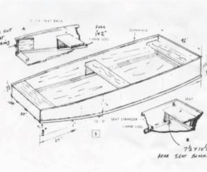 Flat Bottomed Boat Plans From The Kentucky Government Site