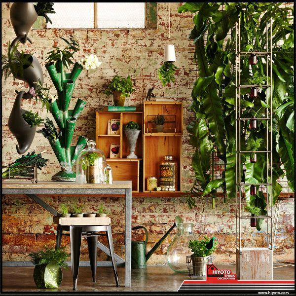 Tak punya lahan untuk taman? Bawa saja masuk ke dalam rumah! Taman indoor ini pas untuk dekorasi rumah minimalis karena tidak membutuhkan banyak lahan. Anda dapat meletakkannya di ruang tamu, kamar mandi, atau di ujung lorong rumah. Selain menyelamatkan lahan, taman indoor ini juga memperindah interior rumah!  Tata pot-pot di atas lantai, kaunter, atau tempelkan pada dinding. Kreasikan gaya Anda :) #desainrumah #dekorasirumah #desaininterior #desaintaman #diy
