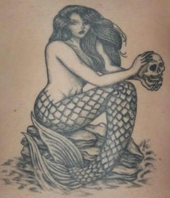 25 best ideas about mermaid tattoo designs on pinterest for Tattoo donne guerriere
